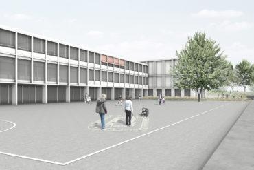 Neubau Primarschule Feld, Azmoos