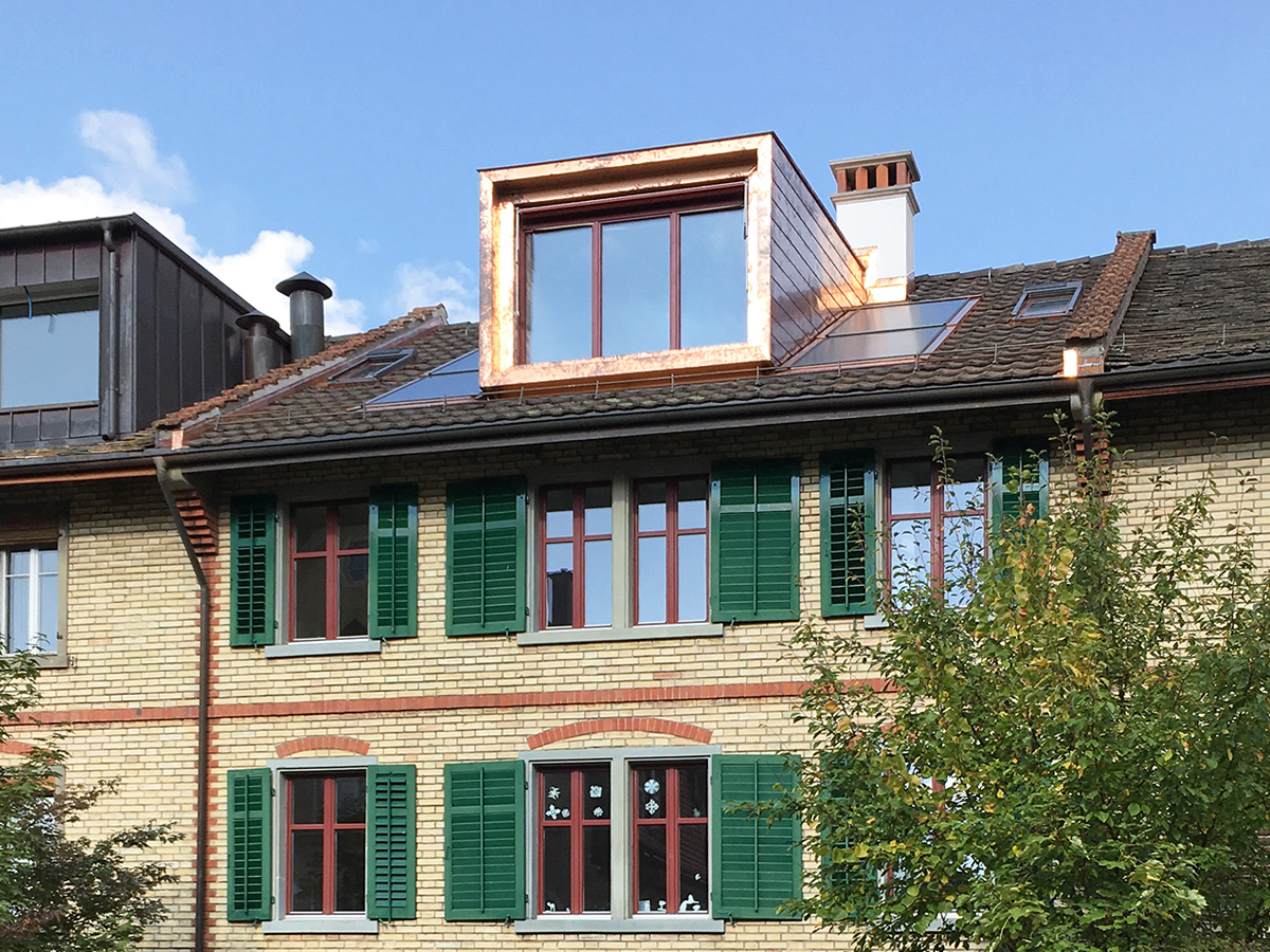 Wohnhaus Grenzstrasse, Winterthur