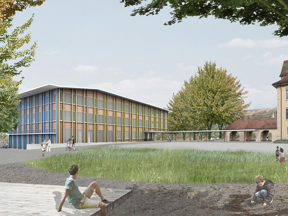 Ersatzneubau Schulhaus Zentrum, Diessenhofen