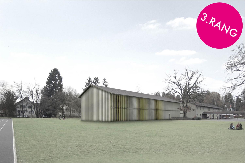 Erweiterung Schulanlage Gönhard, Aarau | 3. Rang