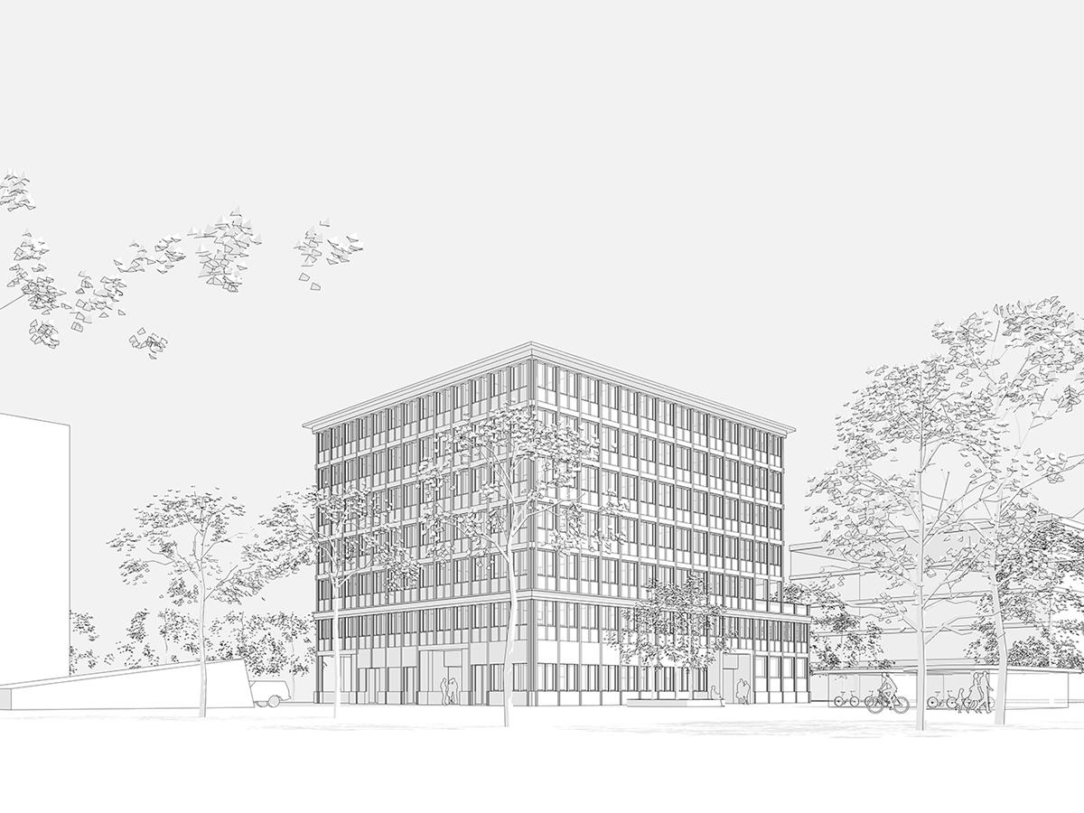 Neubau Sozialversicherungsgericht, Winterthur
